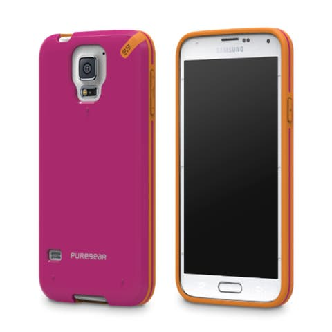 PureGear Slim Shell Case for Samsung Galaxy S5 - Sunset Pink