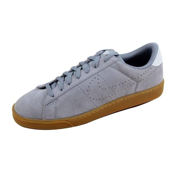Nike Men's Tennis Classic CS Suede Black/Black-Summit White 829351-003