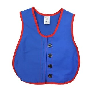 Manual Dexterity Vests Button Vest