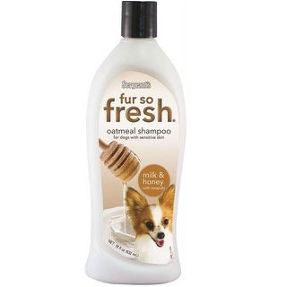 Sergeant's 03805 Fur So Fresh Oatmeal Dog Shampoo, 18 oz.