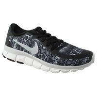 Nike Womens Free 5.0 V4 Ns Pt Black Running Shoes Size 5