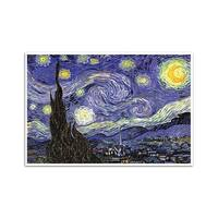 Starry Night - Fine Art Masters - 24x16 Matte Poster Print Wall Art