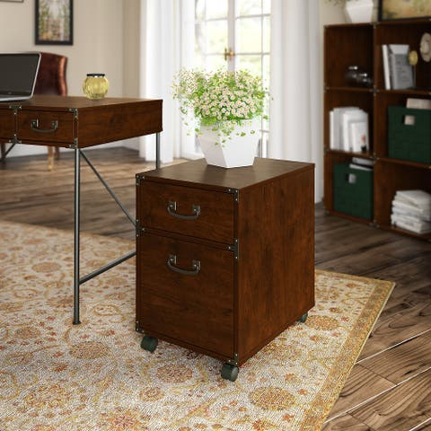 Ironworks File Cabinet from kathy ireland Home by Bush Furniture