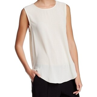 Willow & Clay NEW White Ivory Women's Size Medium M Drape-Back Blouse