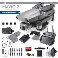 DJI Mavic 2 Pro (CP.MA.00000019.01) With 64GB Memory Card, 2 Extra Batteries and More - 2 Battery Essential Bundle