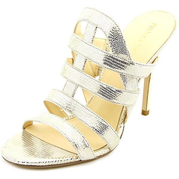 Ivanka Trump Hullen Open Toe Synthetic Slides Sandal