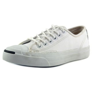 Converse JP Jack Ox Women Round Toe Canvas White Sneakers
