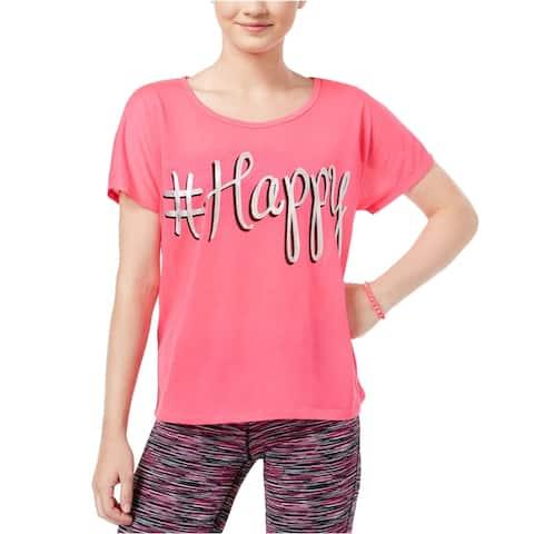 Dreamworks Womens #Happy Graphic T-Shirt