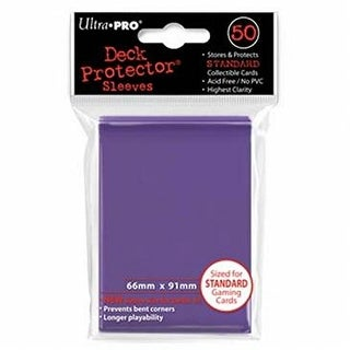Deck Protectors Solid - Standard Size - Purple