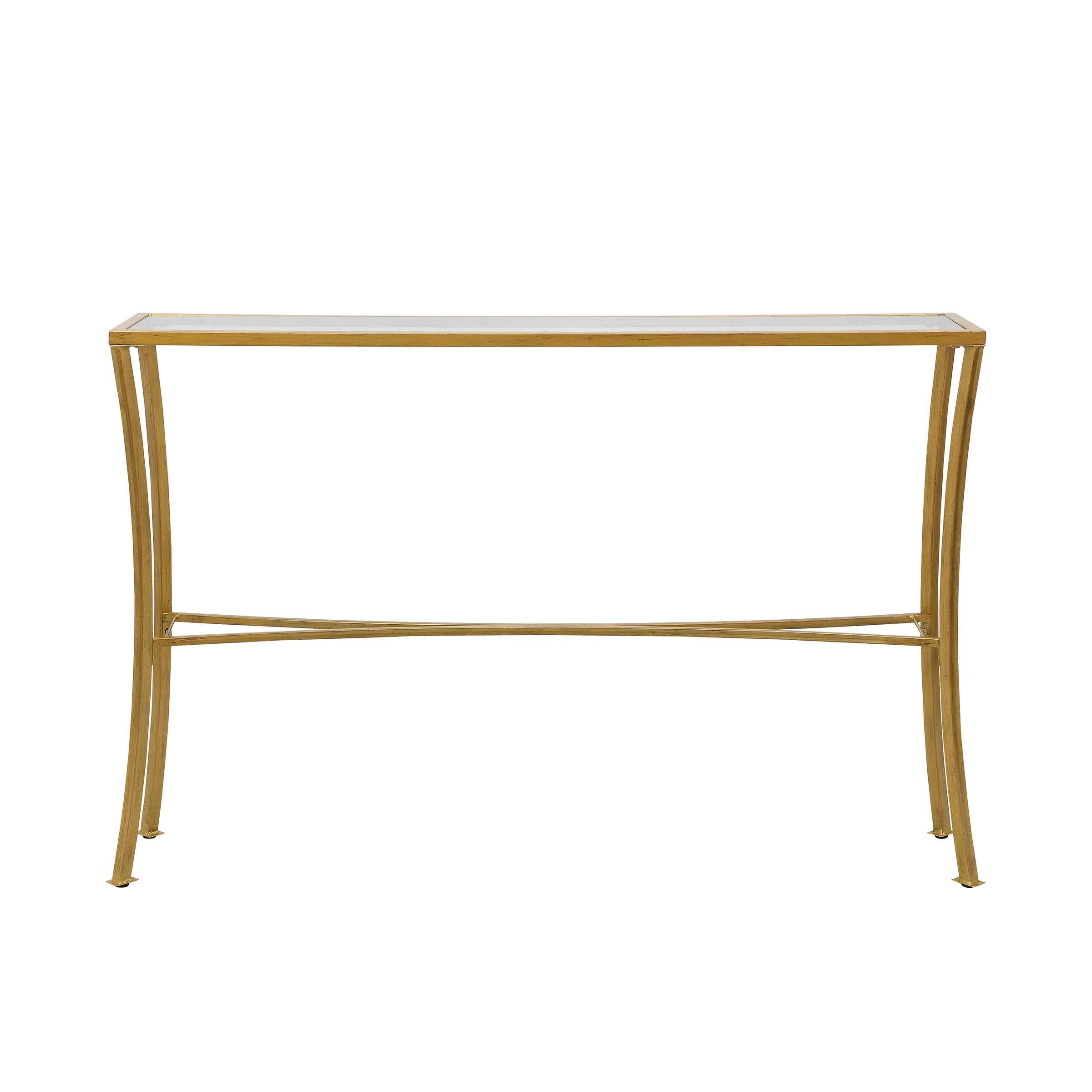 Savoy Antique Gold Glass Top Console Table Overstock 32397807