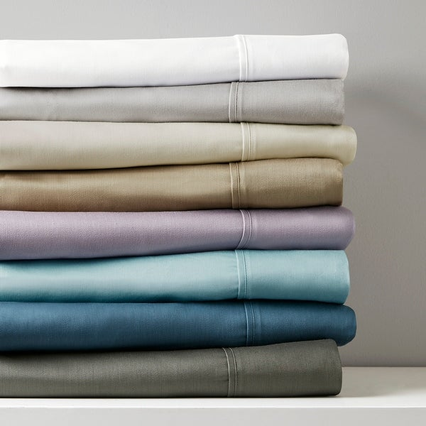 Madison Park 800 Thread Count Cotton Blend Sateen Bed Sheet Set. Opens flyout.