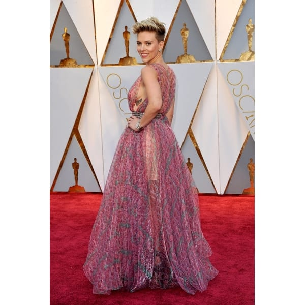 Shop Scarlett Johansson At Arrivals For The 89th Academy Awards Oscars 2017 Arrivals 2 The Dolby Theatre At Hollywood And Highland Free Shipping On Orders Over 45 Overstock 24382644