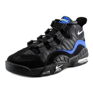 Nike Air Max Sensation Men Round Toe Synthetic Black Basketball Shoe