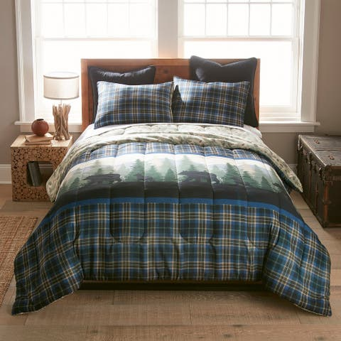 Donna Sharp Bear Journey Blue 3-pc Comforter Set