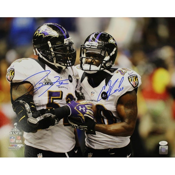 2b11156f2 Shop Ray Lewis Ed Reed Autographed Baltimore Ravens 16x20 Photo JSA - Free  Shipping Today - Overstock - 22390198