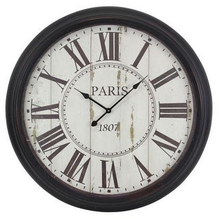 Aspire Home Accents 5314 Constance Round Wall Clock