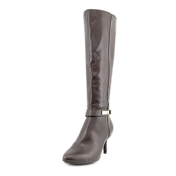 Alfani Jemsey Women Brown Knee High Boot - 8.5