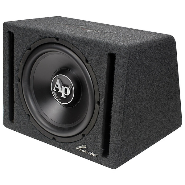 "Audiopipe 12"" in a Single Ported Box with 600 Watt Amplifier"