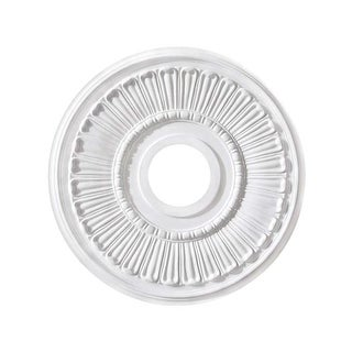 """Canarm FM-37 Contempra Ceiling Medallion With 3-5/8"""" Center Opening"""