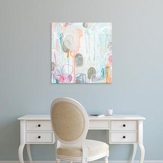 Easy Art Prints June Erica Vess's 'Interior Orbit II' Premium Canvas Art