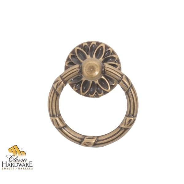 Bosetti Marella 100170 Louis XVI 1-3/8 Inch Diameter Ring Cabinet Pull