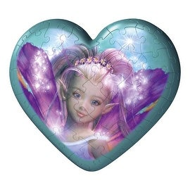 Ravensburger 54-Piece Puzzleball Iris Fairy Heart - Blue - 5.0 in. x 3.0 in. x 5.0 in.