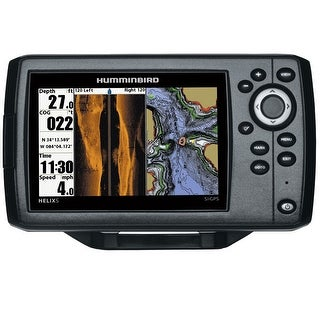 Link to Humminbird 410230-1 Helix 5 SI/GPS Combo w/ 5 Inch Color TFT Display Similar Items in Fish Finders & Electronics