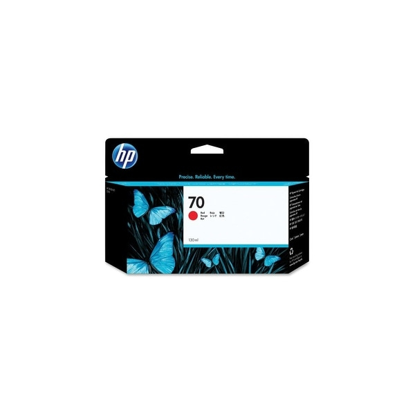 HP 70 130-ml Red DesignJet Ink Cartridge (C9456A) (Single Pack)