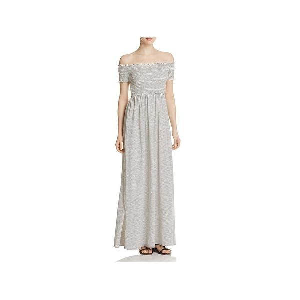 f063820e Shop Finn & Grace Womens Maxi Dress Off-The-Shoulder Full-Length ...
