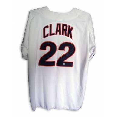 best service 0fd9d e6bd4 Will Clark San Francisco Giants Autographed Jersey Inscribed