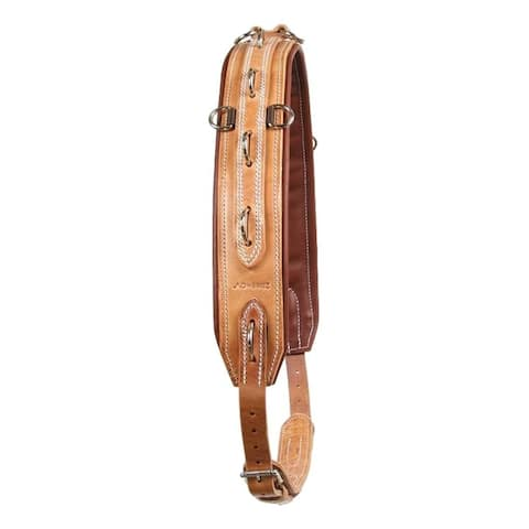 Al Dunning Surcingle Soft Lining Training Tool Leather Brown