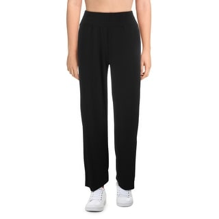 Link to Splendid Women's Split Leg Pull On Activewear Fitness Pants - Black Similar Items in Athletic Clothing