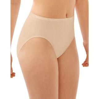 Bali Full-Cut Fit Hi-Cut Panty - Size - 8 - Color - Soft Taupe