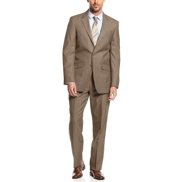 Slim-Fit Pin-Dot Suit Pant Kenneth Cole Reaction A9mzcyM