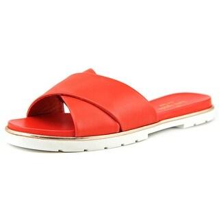 Kate Spade Markey Open Toe Leather Slides Sandal