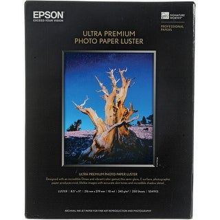 """""""Epson Photo Paper Luster Photo Paper Luster"""""""