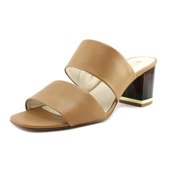 Louise et Cie Kambi 2 Women Open Toe Suede Tan Sandals