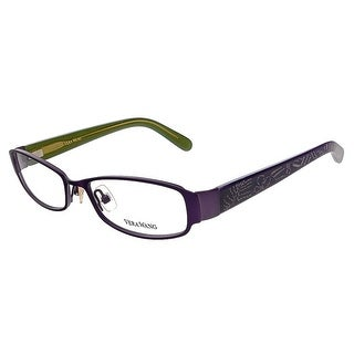 Vera Wang V 043 AM 50 Amethyst Full Rim Womens Optical Frame