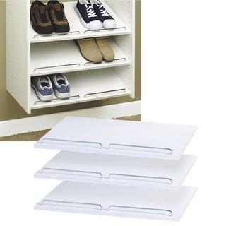 Easy Track Laminated Shoe Shelves