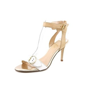 Marc Fisher Malika Open Toe Leather Sandals