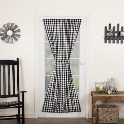Annie Buffalo Check Door Panel - Door Panel 72x40 - Door Panel 72x40