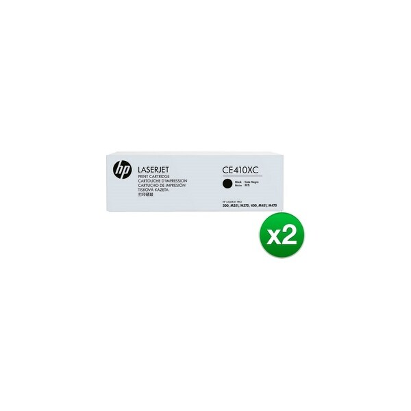 HP 305X Black Contract Original LaserJet Toner Cartridge(CE410XC)(2-Pack)