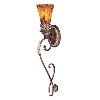 Metropolitan N6521 1 Light Torchiere Wall Sconce from the Salamanca Collection