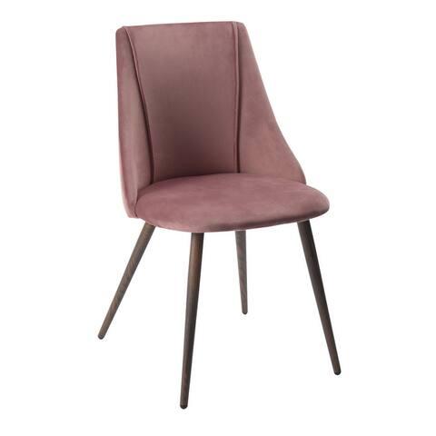 Carson Carrington Mid-Century Modern Velvet Dining Chair (Set of 2)