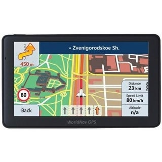 Worldnav 7690 High-Resolution 7 in. Truck GPS Device with Bluetooth