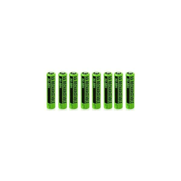 NiMh AA Batteries 8-Pack for GE/RCA NiMh AA Batteries 2-Pack