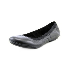 Bandolino Edition Women  Round Toe Leather Black Flats