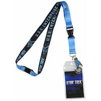Bioworld Star Trek Lanyard  - Blue Member - One Size Fits most