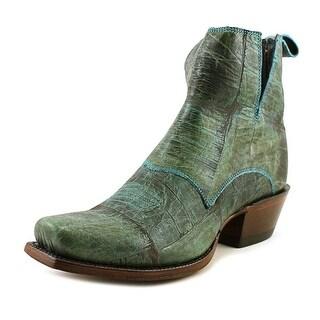Nocona Dakota Bootie Square Toe Leather Western Boot