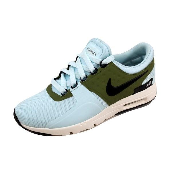 Nike Women's Air Max Zero Glacier Blue/Black-Ivory 857661-400 Size 6.5